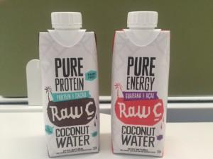 Natural Raw C Protein & Energy Coconut Water