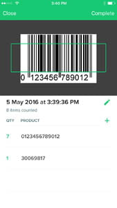 vend counter app