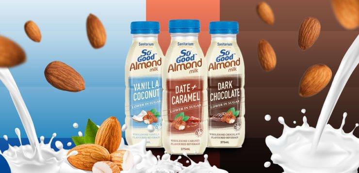 So Good's 'more accessible' almond-milk range