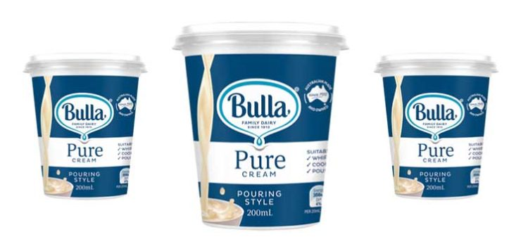 Bulla launches new Pure Cream