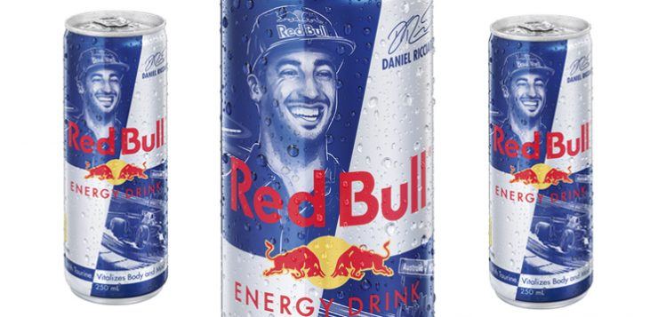 Red Bull adds a winning smile to its iconic formula
