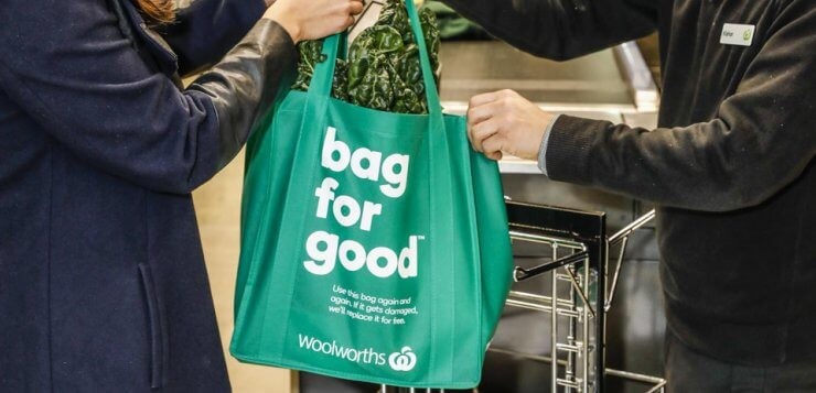 Points are in the bag for Woolies and Coles customers
