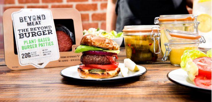 Plant-based Beyond Burger to hit Australia